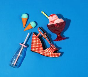 still life fashion food accessori donna