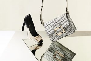 shooting editorial fashion accessories bag and shoes Roger Vivier